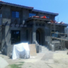 3500 sq. ft. west L.A. property (new construction) with mediterranian/spanish syle design motif with stucco scratch coat.